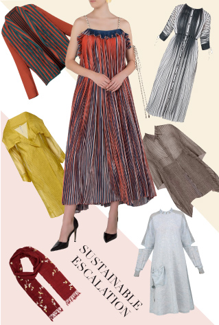 Khadi hand weaved dresses