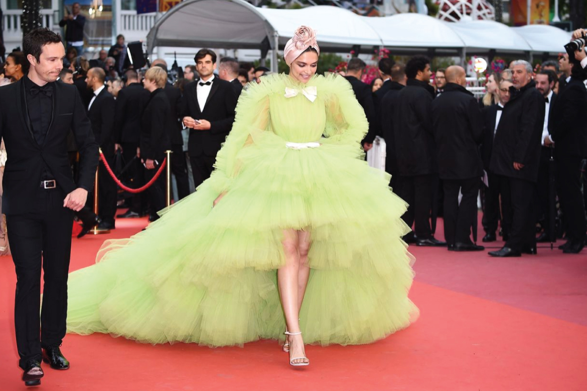 Deepika Padukone at Cannes red carpet 2019
