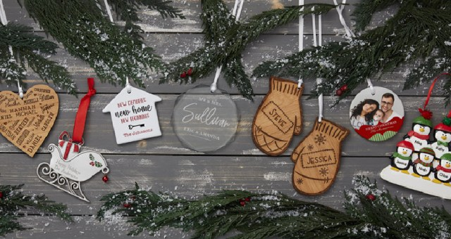 Personalized Ornaments Family Tradition