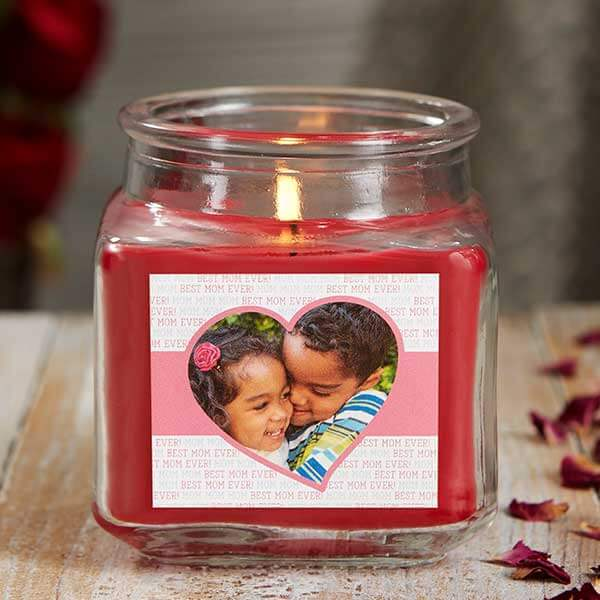 Scented Photo Candle