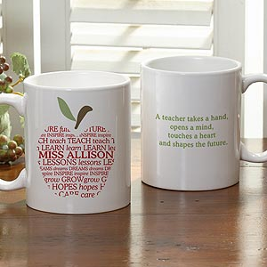 apple scroll mug