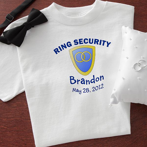 ring security tshirt