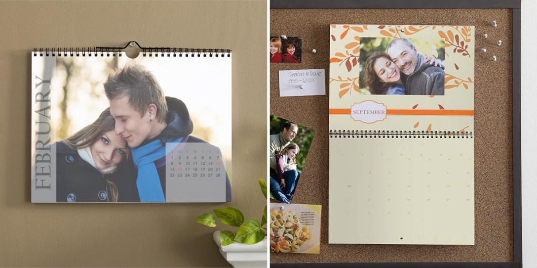 Photo Calendar Wedding Guest Book