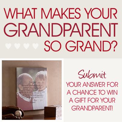 Grandparents Day Contest