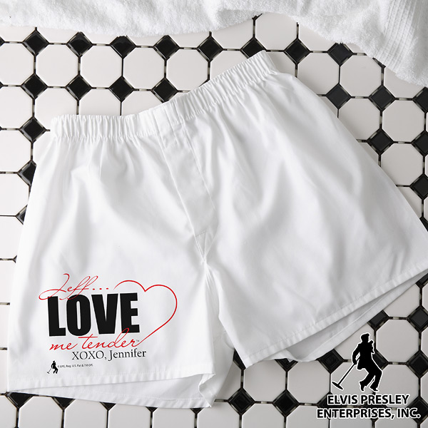 Elvis boxer shorts