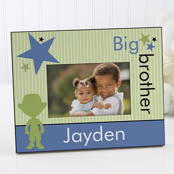 Big Brother Big Sister Picture Frame