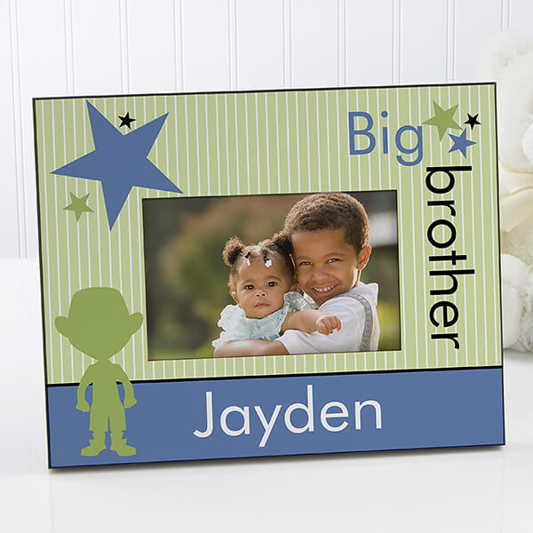 Big Brother Big Sister Picture Frame