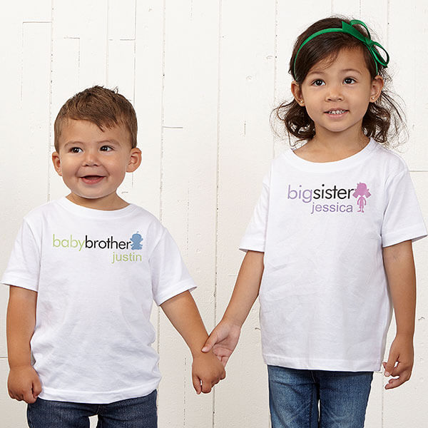 Big Sister Big Brother T-Shirts