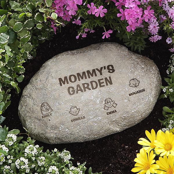 Custom Garden Stone