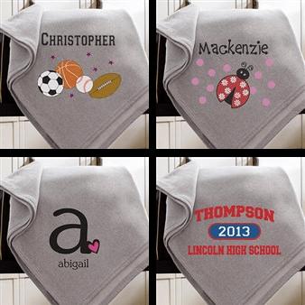 custom kids blankets