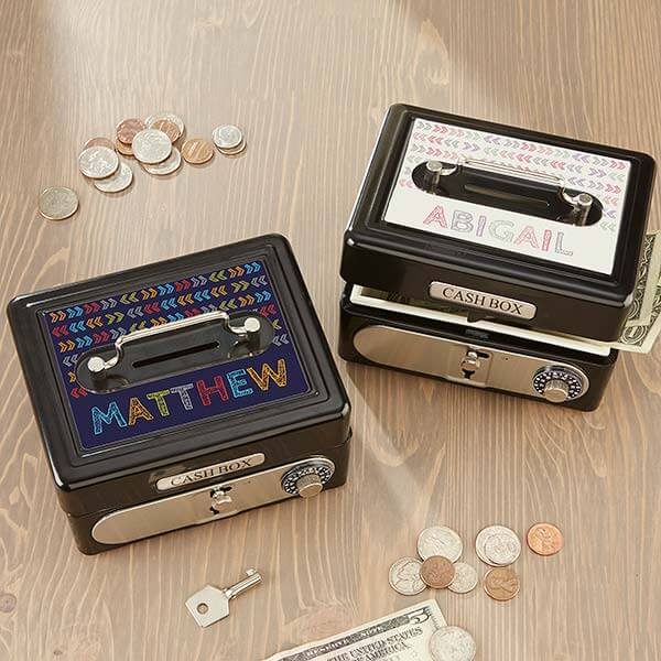 Personalized Cash Box For Kids