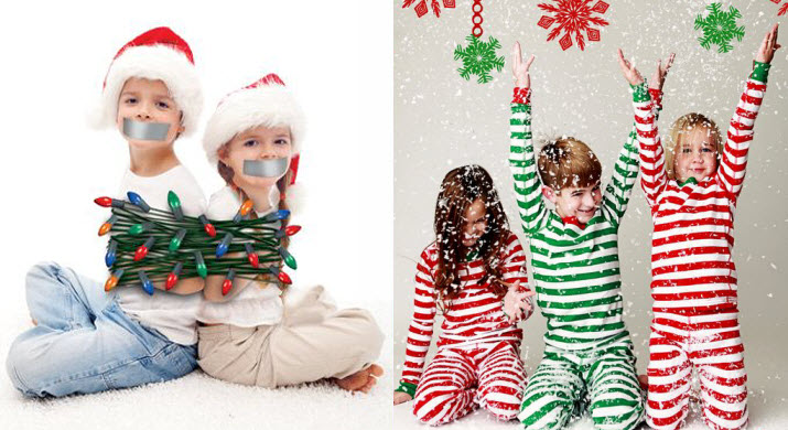 clever cute christmas card photo ideas