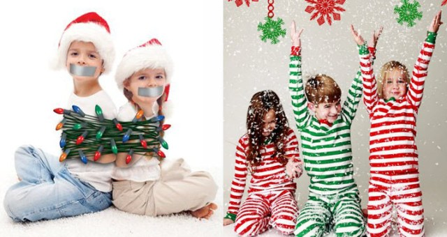 Clever & Cute Christmas Card Photo Ideas