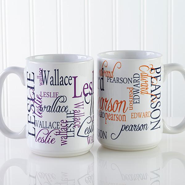 Signature Style Personalized Coffee Mug