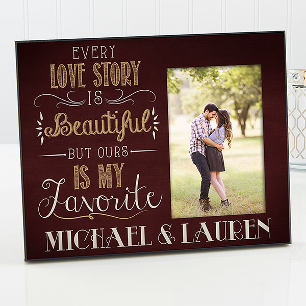 Love Story Custom Picture Frame
