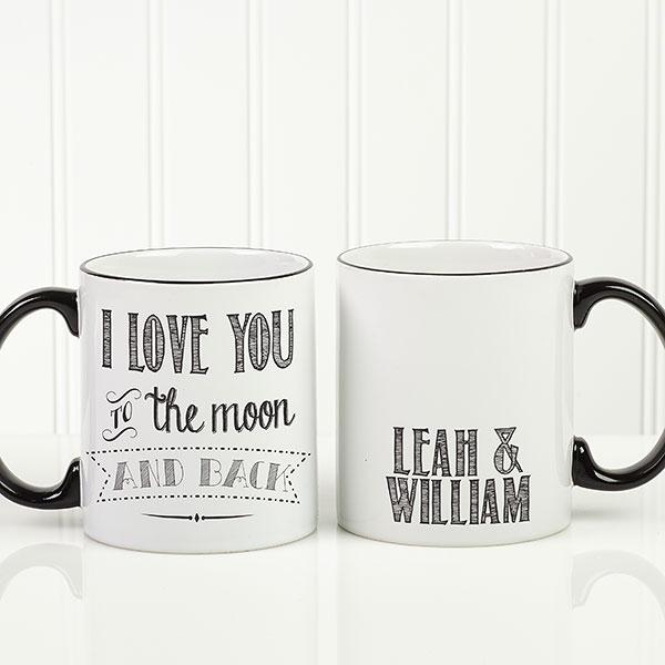 Custom Love Quotes Coffee Mug
