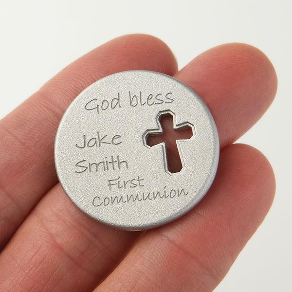 Personalized Religious Pocket Token