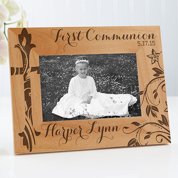 Personalized First Communion Picture Frame