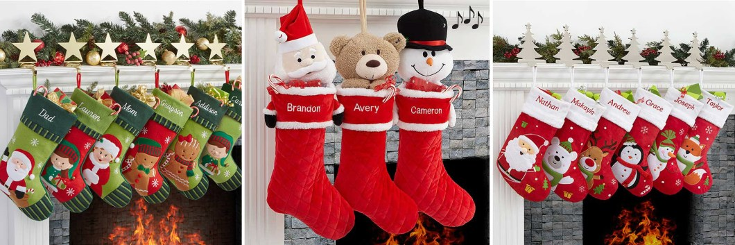 Christmas Characters Stockings