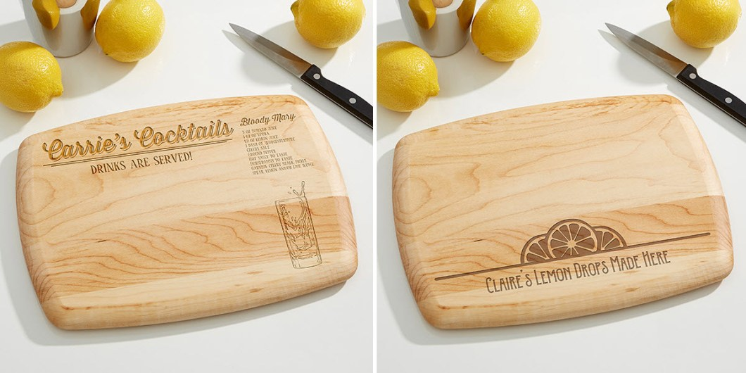 Custom Bar Cutting Boards