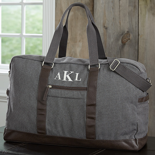 Custom Weekender Bag for Him