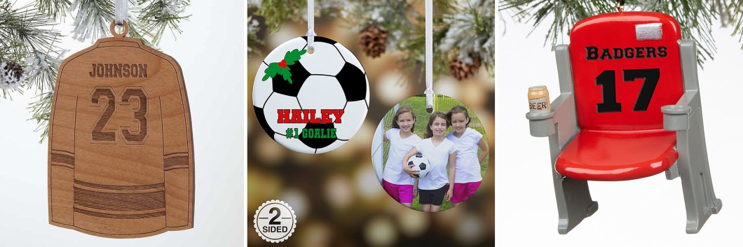 Sports Christmas Ornaments