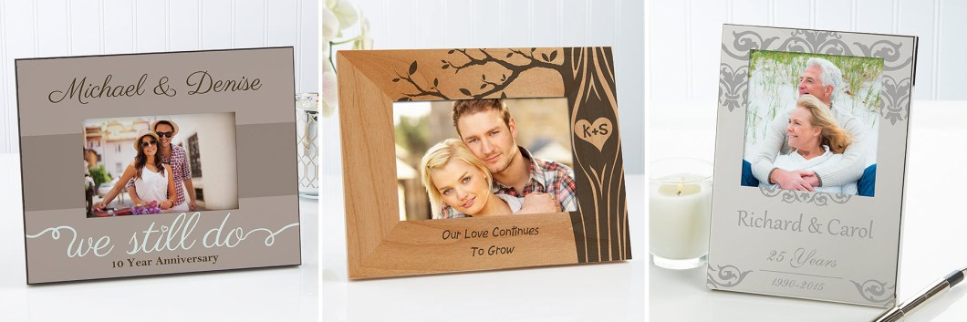 Anniversary Picture Frames
