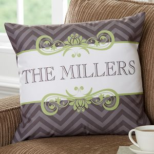 Custom Family Name Pillows
