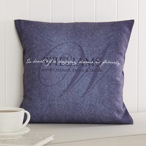 Family Name Pillows