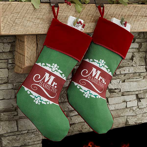 His and Hers Christmas Stockings