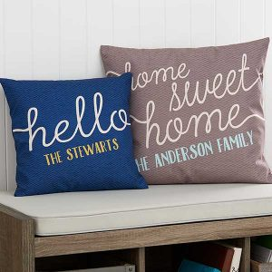 Home Sweet Home Pillows