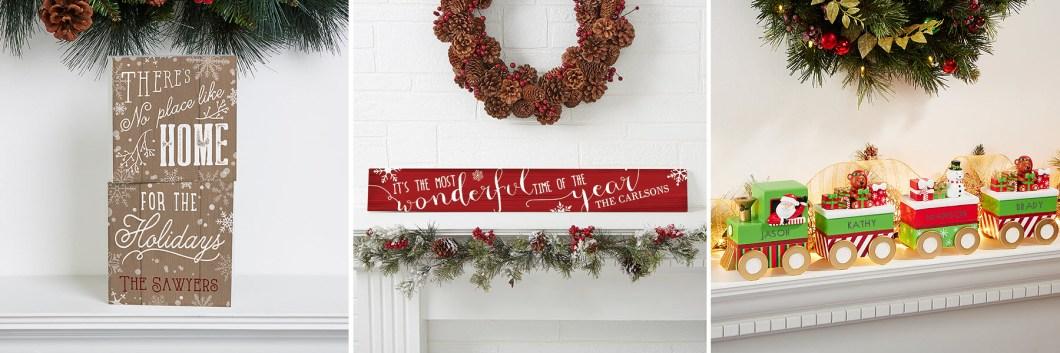 Holiday Mantel Decorating Ideas