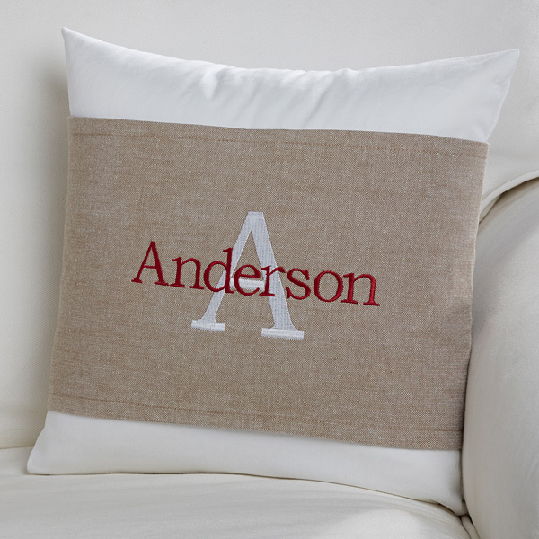 monogram-pillow