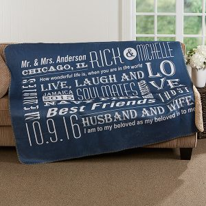 Our Life Together Blanket