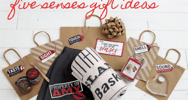 5 Senses Gift Ideas - Blog Post