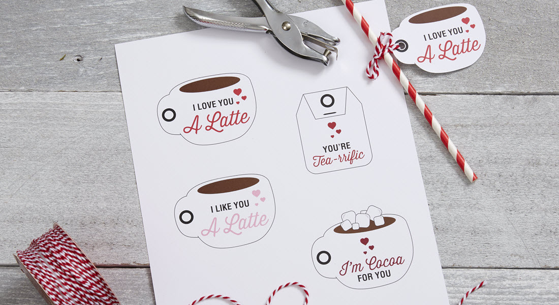 Love You Latte - Free Valentine's Day Printable