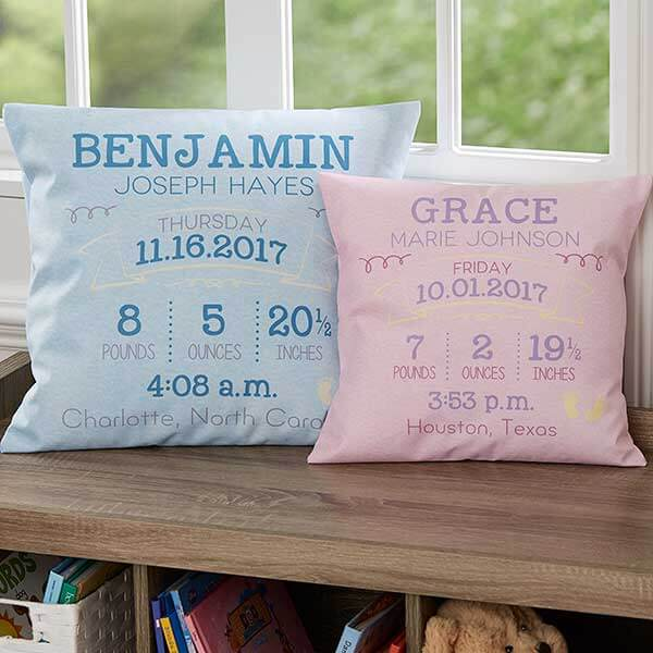 Personalized Baby Pillows