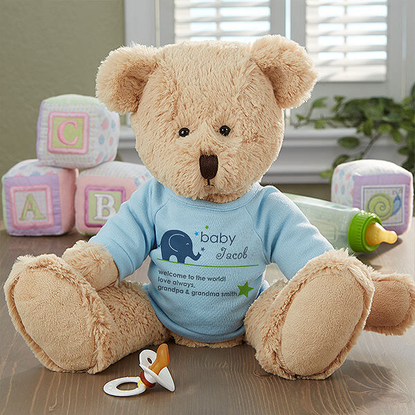 New Arrival Personalized Baby Teddy Bear