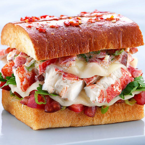 The Kennebunkport Lobster Grilled Cheese