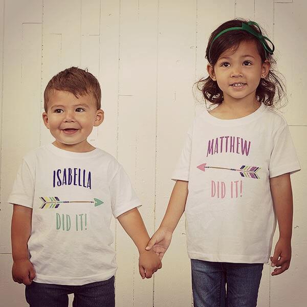 Siblings Day Matching T-Shirts