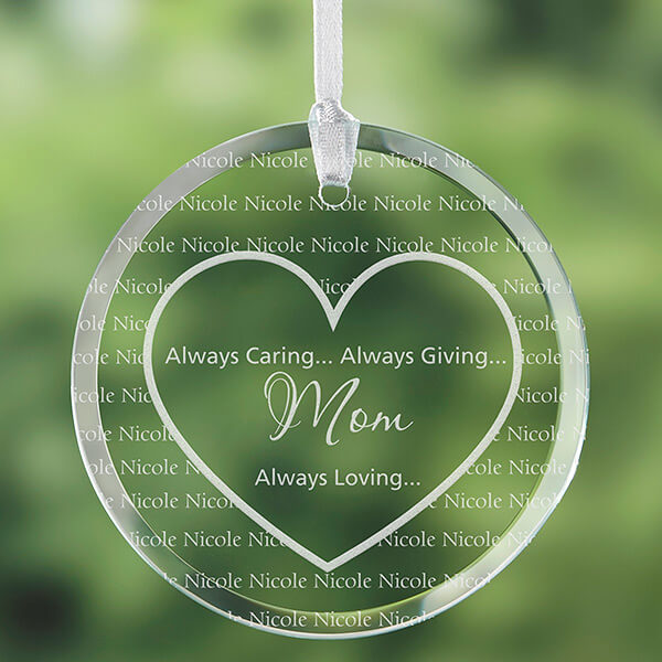 Personalized Suncatcher for Mom