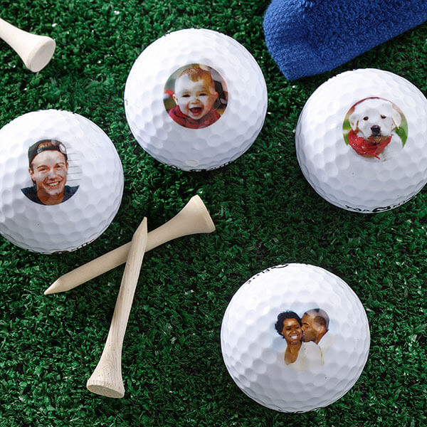 Photo Golf Ball Set
