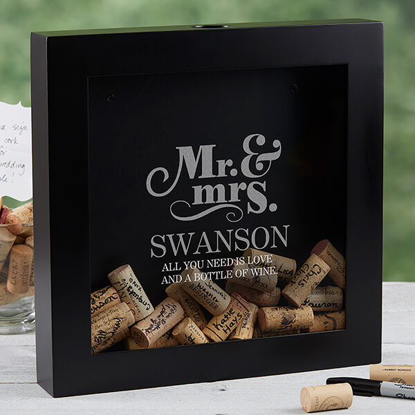Personalization Mall Blog Wine Cork Wedding Guestbook Ideas