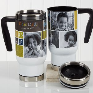 Photo Travel Mug for Dad