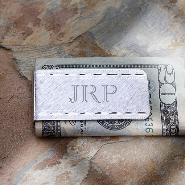 Groomsmen Gifts - Custom Money Clip