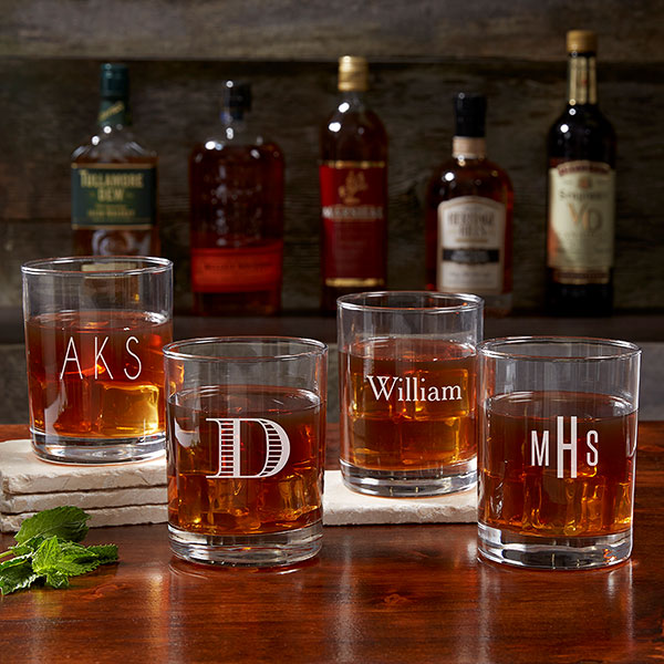 Personalized Cocktail Glasses