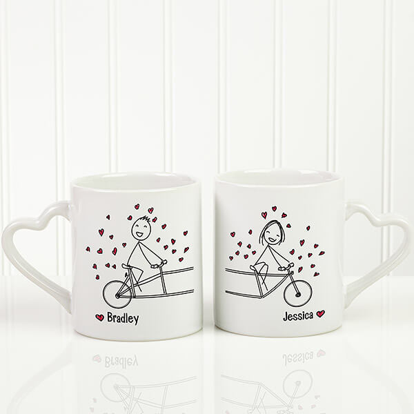 Boyfriend & Girlfriend Coffee Mug Set