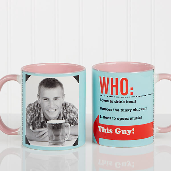 Who Loves You? Boyfriend Coffee Mug