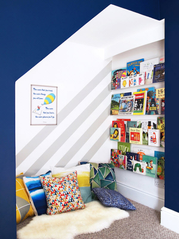 Cozy Reading Nook For Kids
