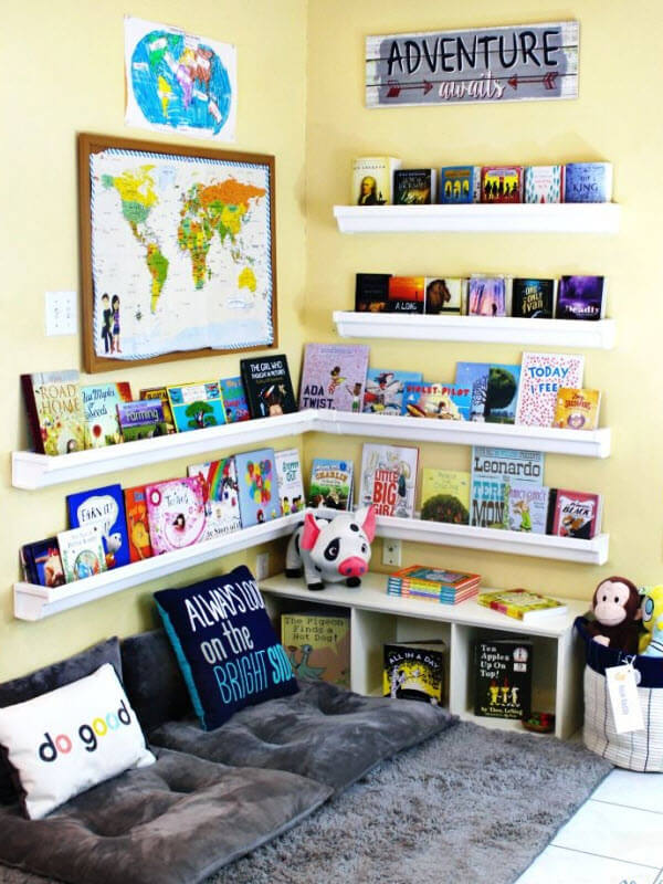 Reading Nook Corner